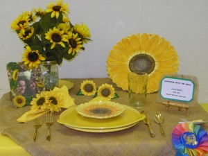 Mariopsa County Fair Lunch with the Girls Table Setting - photo by Kellie Flanagan 2015