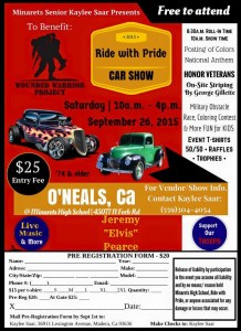 Ride with Pride Car Show