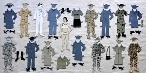 Pam DeLuco's Paper Dolls, book on handmade paper