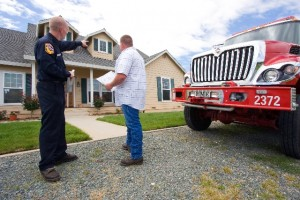 Defensible space inspection