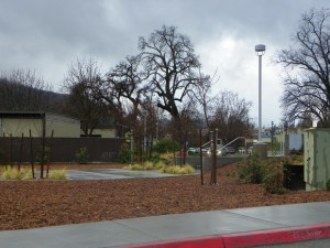 Oakhurst College wide shot from curb 12 22 15 KF