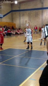 YHS Badger Bulletin Yosemite High Ashlee Harrel girls basketball Jan 2015