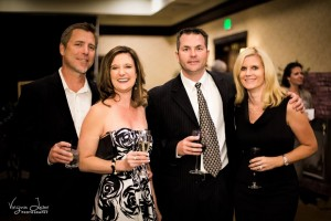 Elegant Auction 2015 Russ and Gina Mimms with Scott and Jennifer Michel - by Virginia Lazar