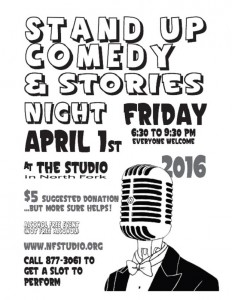 North Fork Stand Up Comedy 4-1-16