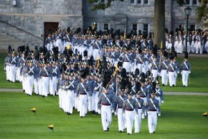 Aaron Hall brother Grant Hall is at Westpoint