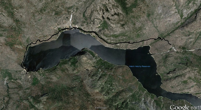 Hetch Hetchy Google Earth