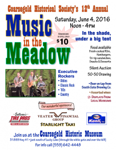 Music in the Meadow 2016