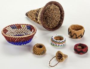 Nishkian collection Parker baskets - photo courtesy Yosemite Conservancy