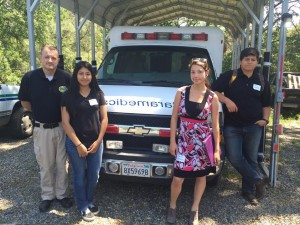 Yosemite Alt Ed job shadow day May 11 2016 Community Job Shadow Day at Sierra Ambulance - photo by Rhonda Corippo
