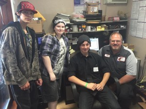 Yosemite Alt Ed job shadow day May 11 2016 Elite Auto  - Copy