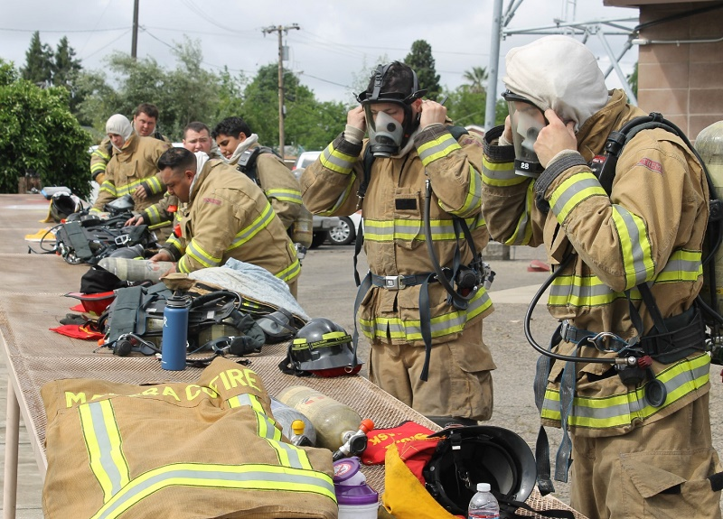 The Making Of A Paid Call Firefighter In Madera County