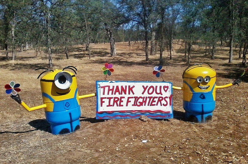 Thank you Firefighters 7-27-15