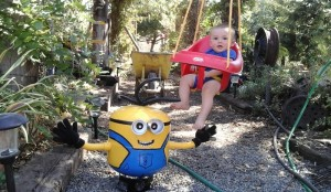 Tyler Smith and his minion