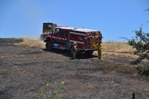 Engine 4275 on Millerton Fire
