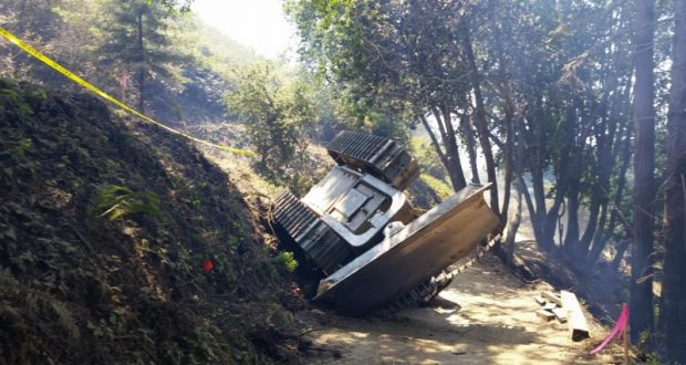 Cal Fire Releases Report On Dozer Fatality Sierra News