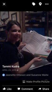 Five questions Tammi Kudra with daughter Dakota at college