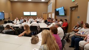 Citizens on Patrol swearing in event - photo courtesy Madera Co. Sheriff