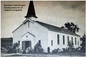 Photo of the Chapel at Stockton Field from the Stockton Field Aviation Museum courtesy of http://www.twinbeech.com/