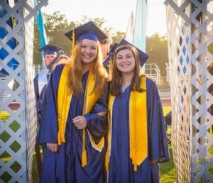 clara-briley-and-allie-donnel-at-yhs-grad-2016