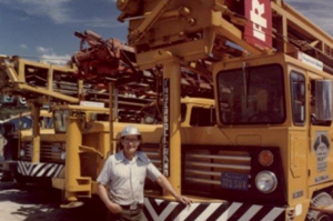 walt-bannon-drilling-color-shot-with-air-rigs-photo