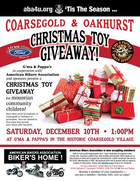 Free toy giveaway