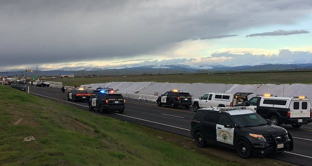 Highway 41 Closed North Of Fresno Due To Fatal Crash