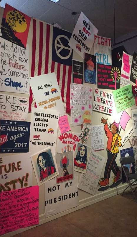 image relating to Printable Signs for Women's March identified as Artes Americas Mar 4 2017 womens march signs or symptoms picture by means of Kellie