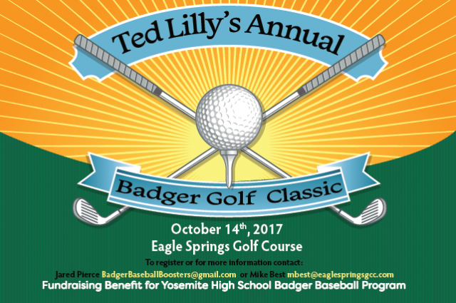 Ted Lilly Golf Tournament Helps Support Badger Baseball