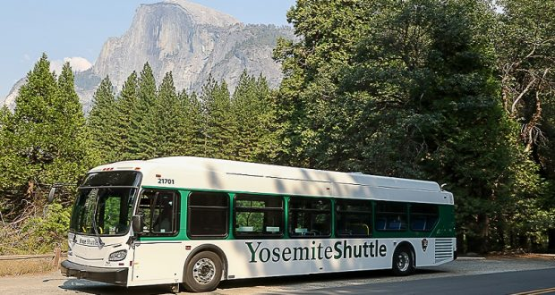 Yosemite Shuttle Bus Photo Nps