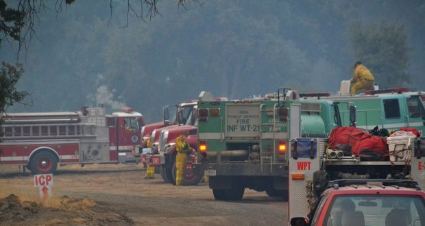Ferguson Fire Command Post Moves To Ahwahnee Hills Park