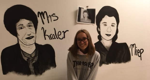 Theater music art imagery diary of anne frank at yhs for Anne frank musical