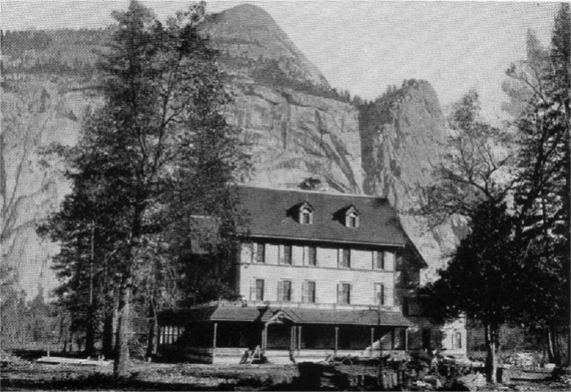 Stoneman House from One Hundred Years in Yosemite (1931) by Carl P. Russell