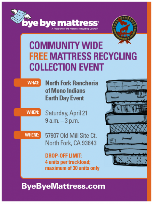 Earth Day Includes Tire, E-Waste And Mattress Recycling | Sierra