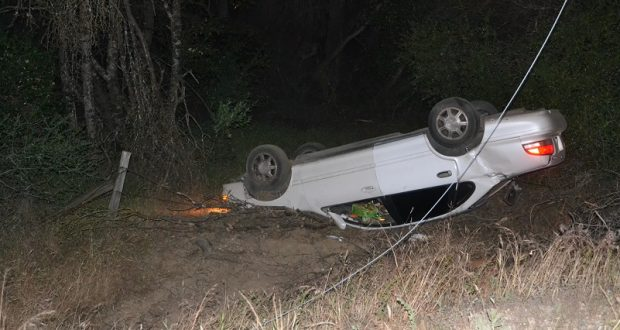 Car Into Power Pole Closes Highway 49 For Over Two Hours
