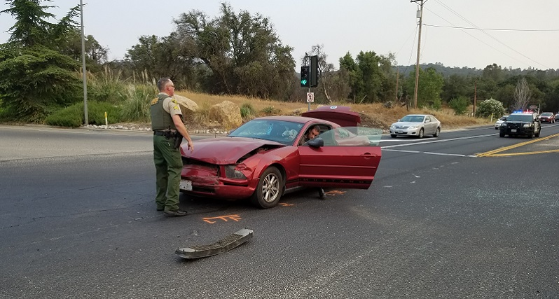 Traffic Snarled Following Highway 41 Crash In Coarsegold | Sierra