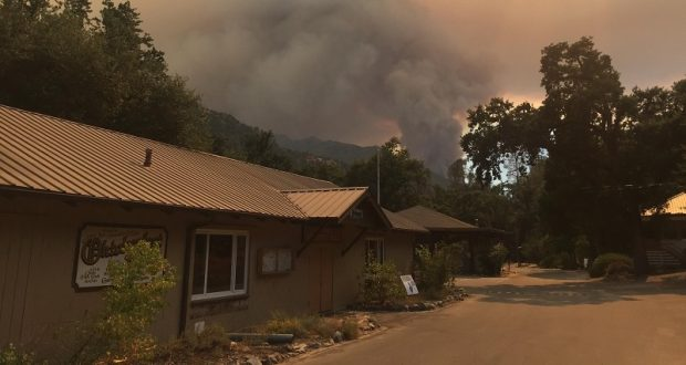 Dense Smoke Continues To Hamper Air Attack Of Ferguson Fire | Sierra ...