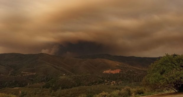 Smoke Continues To Hamper The Air Ops On Ferguson Fire | Sierra News ...