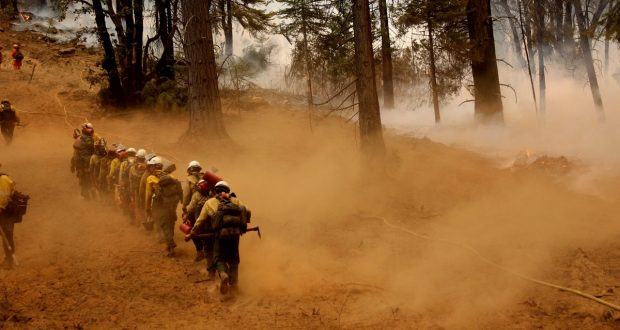 Ferguson Fire Nearly 81,000 Acres, Closures Remain In Place | Sierra ...