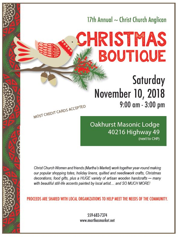Martha\'s Market Elves Prep Christmas Boutique | Sierra News Online