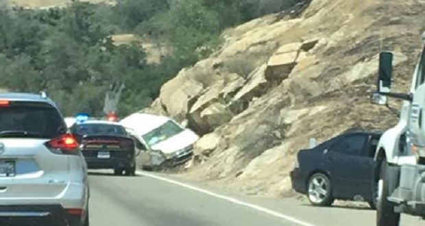 Solo-Vehicle Accident On Highway 41 Near Road 406 | Sierra News Online