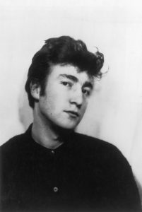 John in his early days