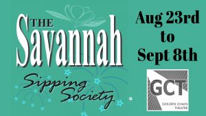 Savannah Sipping Society flyer.