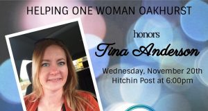HOW dinner to honor Tina Anderson