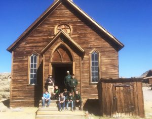 A church in Bodie