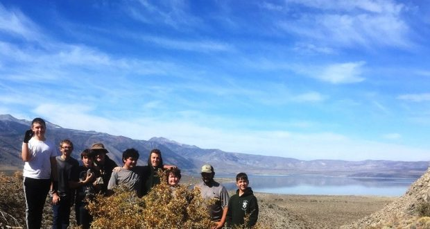 The Troops at Mono Lake