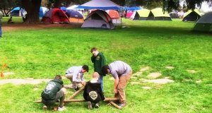Scouts at Camporee 2019