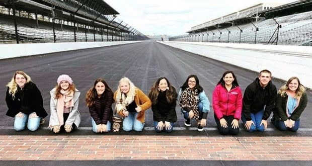 Minarets FFA Chapter at the Indy 500