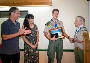 Jeremiah Stott, North Fork's newest Eagle Scout
