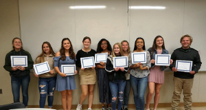 Congratulations to the Minarets Honor Society!