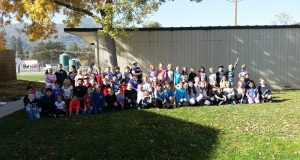 Third grade class at Oakhurst Elementary School